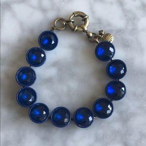 JCrew blue bracelet